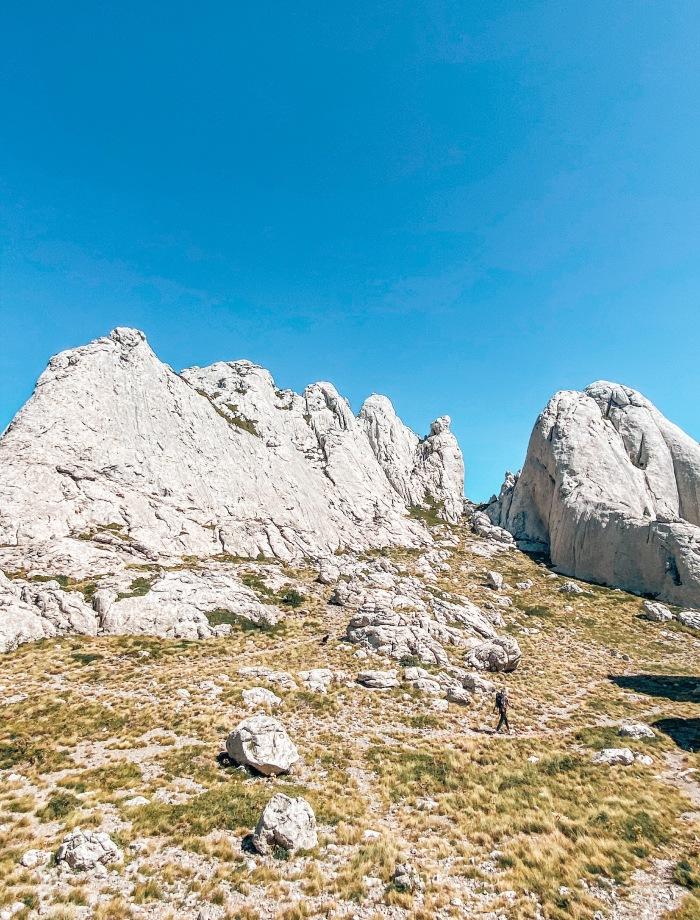 Tulove Grede hike Kroatie