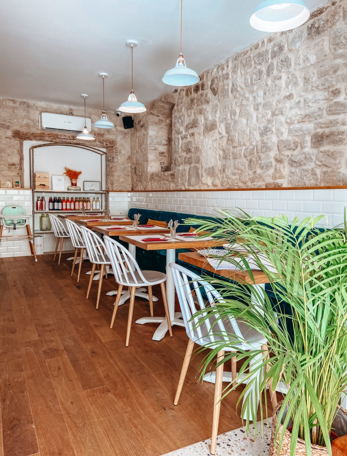 restaurants Trogir Kroatie