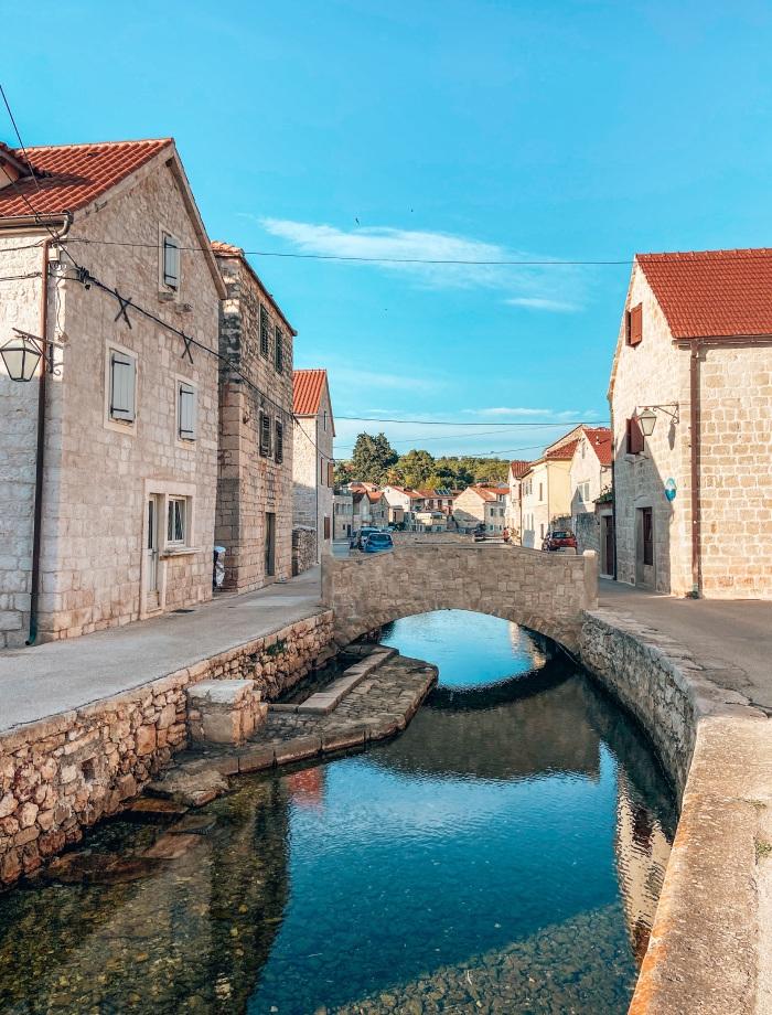 Vrboska Hvar Kroatie