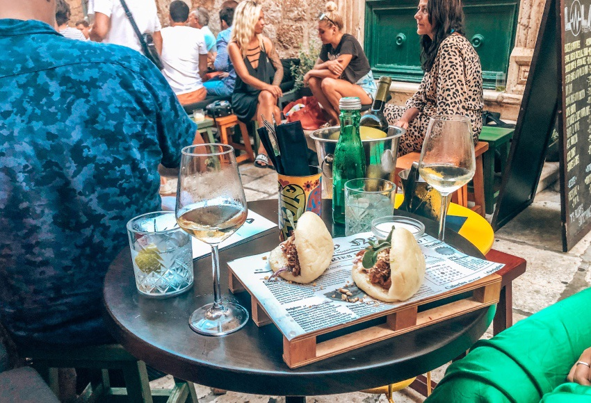 restaurants Hvar Kroatie