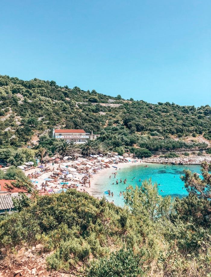stranden Hvar Kroatie