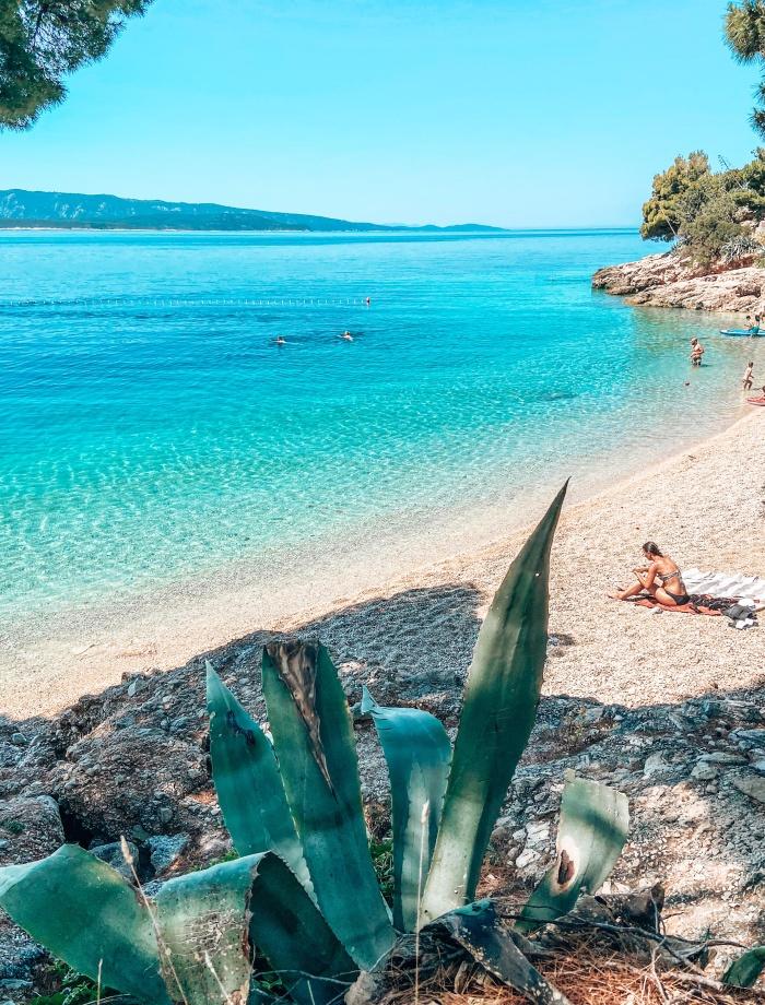 Stranden Brac Kroatie